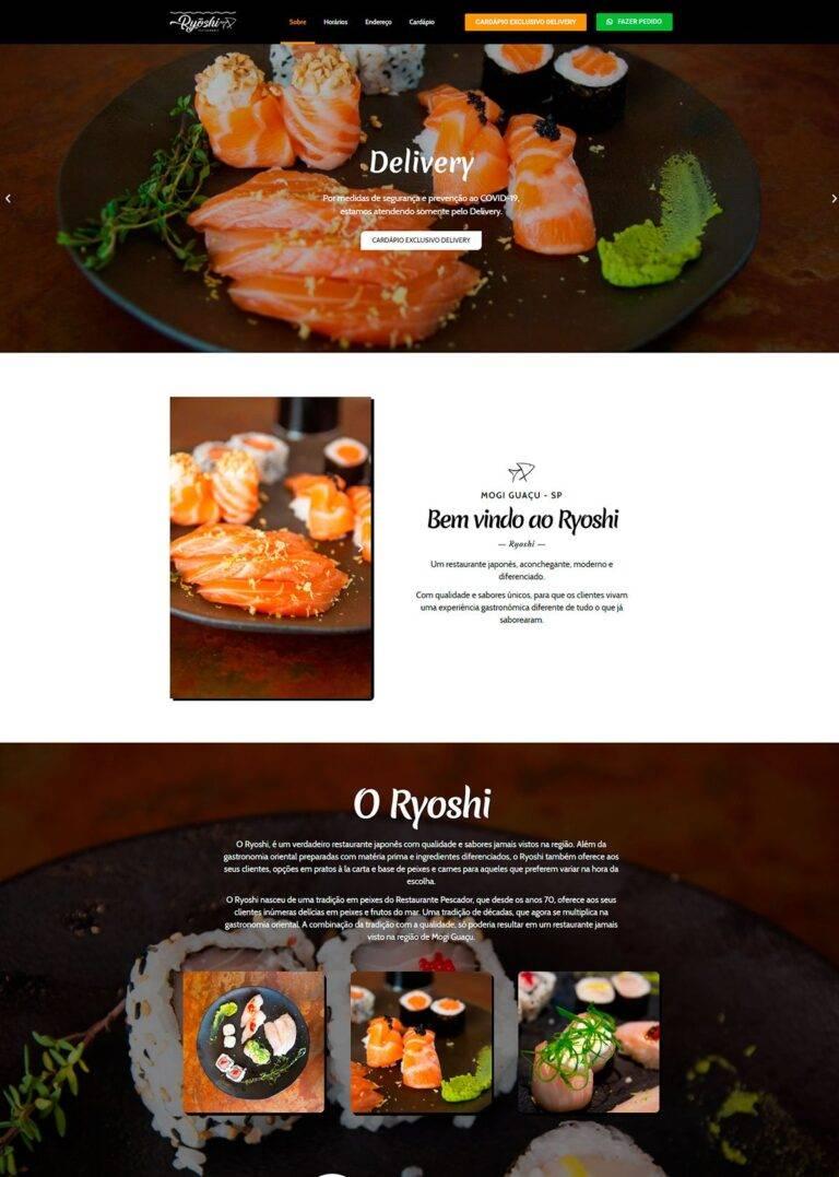 Criação de Sites - Ryoshi