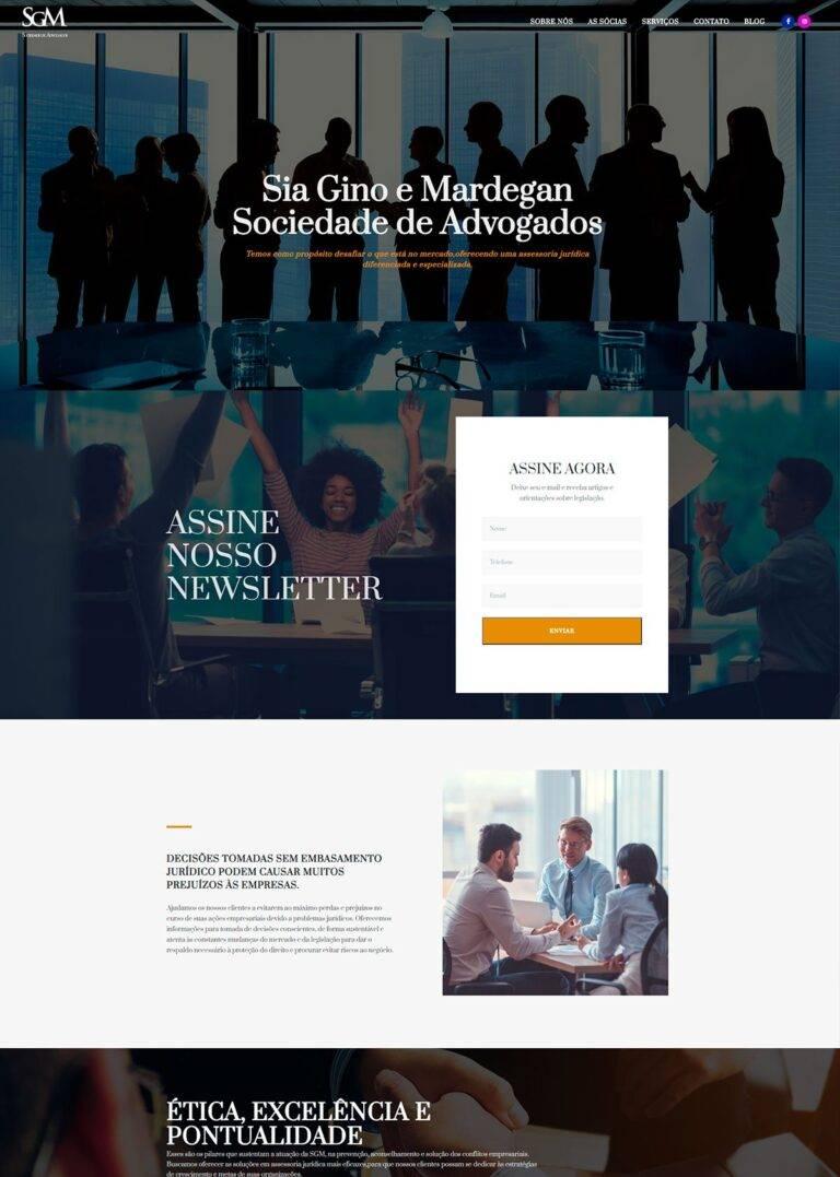 Criação de Sites - SGM