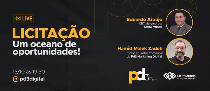 Comunicado Live Pd3 Blog